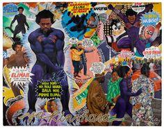 """Elima Ya Kinshasa"" by Congolese artist Junior Bilaka"
