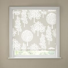 The decorative Trees Roller Blind in natural colours patterned with pretty white trees allows you to control the amount of sunlight coming into your home, provides privacy and is a fresh alternative to standard window coverings. Sizes available: - Faux Wood Blinds, Bamboo Blinds, House Blinds, Blinds For Windows, Bamboo Bathroom Accessories, Types Of Blinds, Outdoor Blinds, Blackout Blinds, Mini Blinds