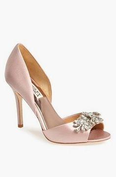 Badgley Mischka 'Giana' Satin d'Orsay Pump