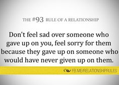 The #93 Rule of a Relationship