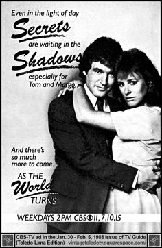 Promo for ATWT featuring Tom & Margo