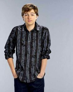 Angus T. Jones - Born in Austin, Texas. Best known for playing Jake Harper in the CBS sitcom Two and a Half Men, for which he won two Young Artist and a TV Land Award. Two And Half Men, Half Man, George Clooney, Christian Actors, Men Tv, Charlie Sheen, Charming Man, Tv Land, Classic Tv