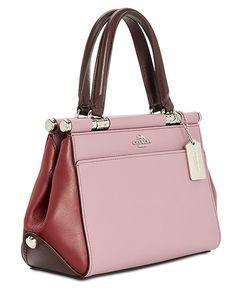 5de2d1fcd39 COACH Grace 20 Colorblock Bag   Reviews - Handbags   Accessories - Macy s