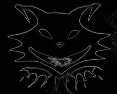 Logo-Artwork by Kitty Tenebris   grapich design black cat art