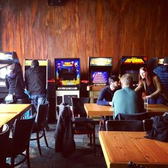 Stepping into Emporium Arcade Bar in Wicker Park is a very cool blast from the past! Vintage arcade games and a variety of beer on tap...what could be better? #chicago #retro #arcade