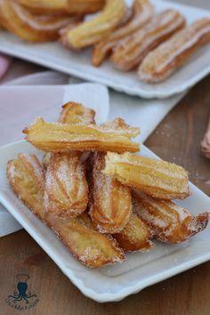 Churros, Italian Recipes, Vegan Recipes, Delicious Desserts, Dessert Recipes, Italian Cookies, Cupcakes, International Recipes, Tasty Dishes