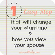 Marriage Tips- Why I Love my Spouse Journal. Great idea!