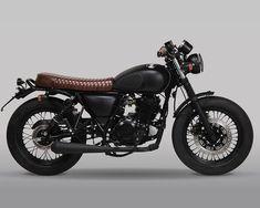 Honda Scrambler, Cafe Racer Honda, Cafe Racer Bikes, Moto Bike, Cafe Racer Motorcycle, Motorcycle Design, Motorcycle Outfit, Bike Design, Yamaha