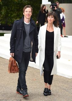 Newly weds: Sophie looked glamorous in her subtle choice of attire, linking hands with her A-List husband as they made a modest entrance into the star-studded event