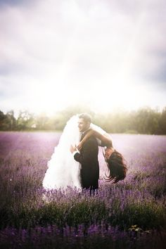 Simply Romantic – Field Engagement Photo Ideas - (Rosie Hardy)