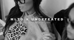 Justene and Dawn Jaro Models for MLTD x Undefeated (Video)