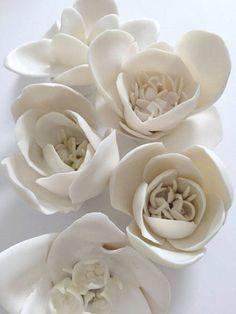 Mixed Porcelain Flowers | Ceramic Art