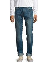511 Slim Fit White Mud Jeans