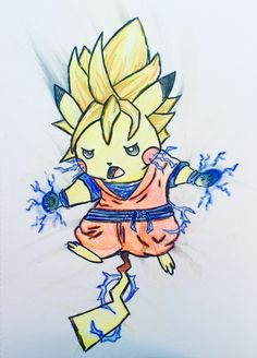 Super Saiyan Pikachu