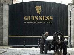 Guiness brewery, Dublin.