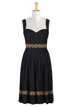 Shop women's long sleeve dresses - Women's designer dresses: Casual Cotton, Long, Fall & Knit Dresses - - | eShakti.com