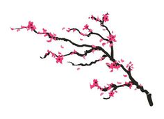 Cherry Blossom Branch Tattoo Set from myTaT. Saved to temp tatoos. #spring #womensaccessories #cherryblossom #temporarytattoo.