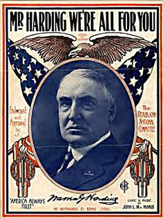 President Warren G. Harding had 5 nervous breakdowns before he became President.