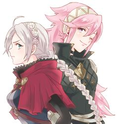Soleil and Eponine - FE: Fates