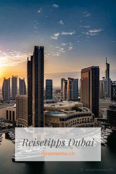 Dubai ist die Stadt der Superlative! Hier ist alles etwas höher, grösser und luxuriöser als in anderen Metropolen. Wir verraten dir unsere Highlights und praktische Tipps.  #Reisetipps #Städtetrip Seattle Skyline, New York Skyline, Highlights, German, Travel, Europe, United Arab Emirates, Continents, Handy Tips