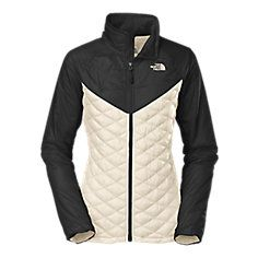 Women's ThermoBall Remix Jacket (Size M) in Gardenia White/TNF Black from The North Face *really want this jacket*
