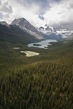 wanderthewood:  Canadian Rockies byAl Power
