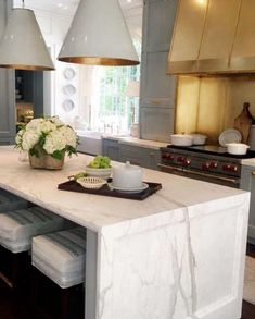 kitchen with brass cabinets lighting accents white kitchens with gold and brass decor painted kitchen cabinets modern light bright kitchen design