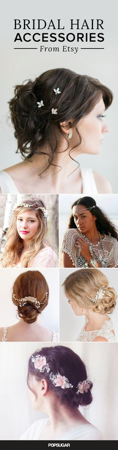 Turning heads at your wedding is easy with stunning hair and an even more incredible headpiece. The difficult part, however, is searching for the right accessory to match your hairstyle and veil. We found gorgeous, affordable options, all under $100, that we're sure any beauty-bridal junkie will approve of.