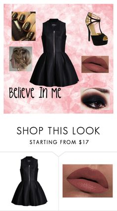 """""""Believe In Me"""" by o-hugsandkisses-x ❤ liked on Polyvore featuring LORAC and Red Circle"""