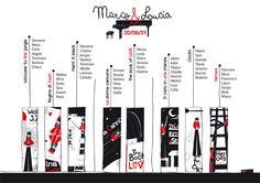 Tableau de mariage con le mie illustrazioni realizzato per il matrimonio di Marco e Lucia. Tableau de mariage with my illustrations. #wedding #illustration #weddingideas