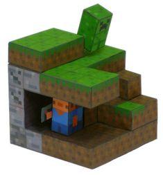 Minecraft printable craft http://www.printablesfree.com/categories/crafts