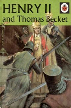 HENRY II & THOMAS BECKET Vintage Ladybird Book Adventures from History Series 561 First