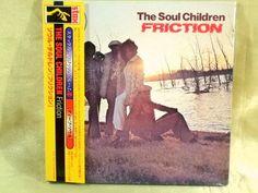CD/Japan- THE SOUL CHILDREN Friction w/OBI RARE MINI-LP Gatefold OOP J Blackfoot #FunkSoul