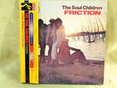 CD/Japan- THE SOUL CHILDREN Friction w/OBI RARE MINI-LP Gatefold OOP J Blackfoot #FunkSoul