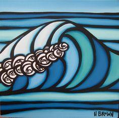 The Surf Art of Heather Brown www.HeatherBrownArt.com