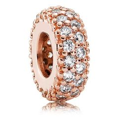 PANDORA Rose™ Inspiration Within with Clear CZ Spacer-802-3116  - Pancharmbracelets.com