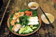 Ханой рисовая вермишель блюда в Сайгоне