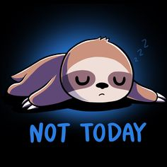 Get comfortable in hundreds of cute, funny, and nerdy t-shirts. TeeTurtle has the perfect super soft shirt to make you smile! Cute Baby Sloths, Cute Sloth, Cute Baby Animals, Cute Cartoon Drawings, Cute Animal Drawings, Kawaii Drawings, Cute Animal Quotes, Cute Cartoon Wallpapers, My Spirit Animal