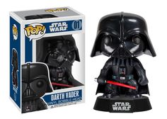 443d766ccecd Darth Vader Funko POP x Star Wars Vinyl BobbleHead Figure w Stand 1 FREE  Official Star Wars Trading Card Bundle 23007     Learn more by visiting the  image ...
