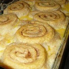 Old Timey Butter Roll Dessert Recipe - Key Ingredient