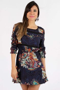Vestido Dress To Entremeios Pasley - BabadoTop