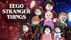 LEGO Stop-Motion Animated Remake of 'Stranger Things' Season One