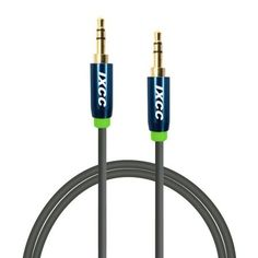 iXCC Male to Male Universal Gold Plated Design Tangle-Free [Tangle-Resistant] Slim Thin Auxiliary Audio Stereo Cable Cord for [All devices] iPhone iPad iPod Samsaung Galaxy Samsung Note HTC Kindle Android Smartphone Tablet and Player Audio Connection, Portable Speaker System, Male To Male, Plate Design, Android Smartphone, Retail Packaging, Computer Accessories, Tablets, Plating