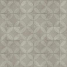 tile flower / light grey //TARKETT TREND