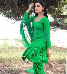 Image may contain: 1 person, standing and outdoor Beautiful Girl Photo, Beautiful Girl Indian, Beautiful Indian Actress, Punjabi Girls, Punjabi Dress, Punjabi Suits, Anarkali Dress, Designer Party Wear Dresses, Kurti Designs Party Wear