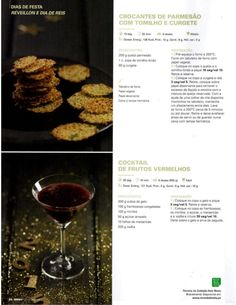 Crocantes de Parmesão com Tomilho e Courgette Low Fodmap, 20 Min, Chocolate, Red Wine, Alcoholic Drinks, Recipies, Cookies, Buttermilk Pancakes, Wafer Cookies