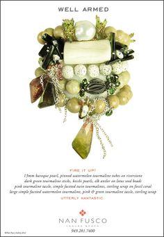 STUNNING!  Nan Fusco Jewelry  http://www.nanfusco.com/