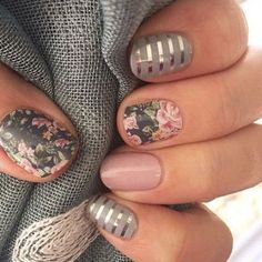 Cute Nail Art with Bunnies & Nails with Flowers