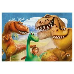 Ravensburger Disney The Good Dinosaur The Good Dinosaur Puzzles in a Box - 2 x 24 Pieces