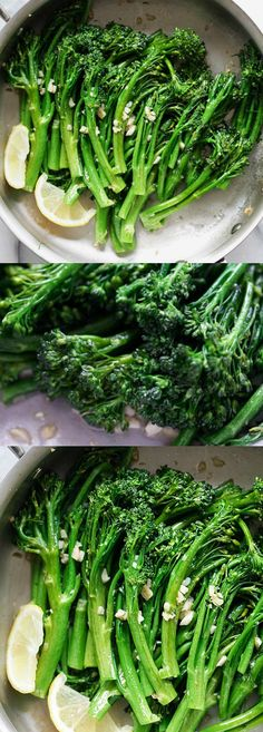 Garlic Butter Sauteed Broccolini – the easiest & healthiest broccolini recipe ever, takes only 10 mins to make. Quick, fresh, and delicious | rasamalaysia.com